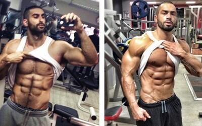 Znamenitá podoba s jedným z najúspešnejších fitnesákov, Lazar Angelovom