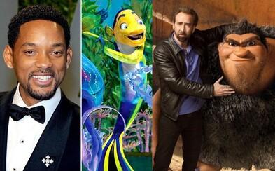 Známi herci a ich kultové animované postavy, ktorým prepožičali svoj hlas #2