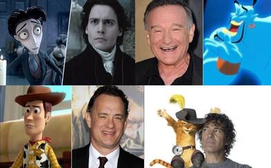 Známi herci, ktorí požičali svoje hlasy kultovým a obľúbeným animovaným postavičkám