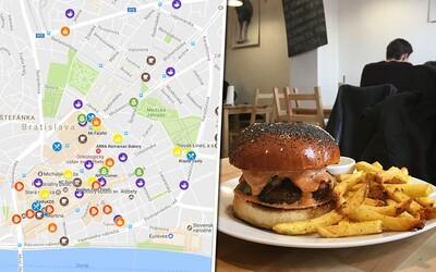 Známy foodbloger Čoje vytvoril mapu najlepších prevádzok v Bratislave, ktoré za niečo stoja