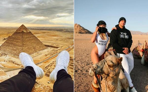 Známy influencer Vitaly vyliezol na pyramídu v Egypte, následne ho zatkli. Vo väzení to bolo hrozné, tvrdí