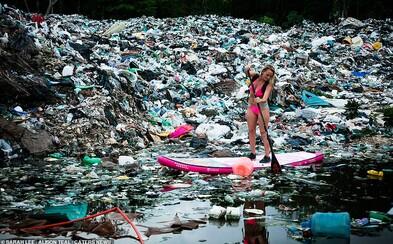 Znepokojujúce fotky odhaľujú špinavú mexickú pláž. Kedysi nádherné miesto pre surferov je zavalené zvráteným množstvom smetí