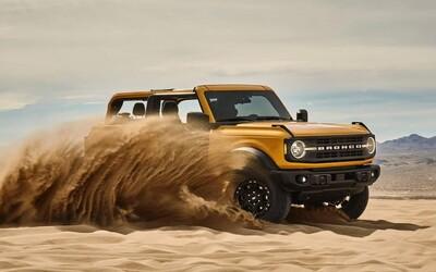 Znovuzrodené Bronco je obrovským hitom. Ford už hlási vyše 230-tisíc záväzných rezervácii