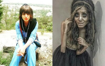 Zombie Angelina Jolie je odsouzena na 10 let v íránském vězení