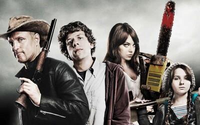 Zombieland 2 bude! Dočkajú sa Eisenberg a Woody Harrelson opäť návalov zombíkov?