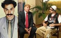 Zosmiešni najnovšie Sacha Baron Cohen prezidenta Donalda Trumpa? Tajomným videom láka na svoj najnovší projekt