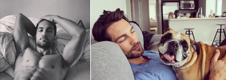 Zoznám sa s atraktívnym modelom Tobiasom. Jeho chrumkavý profil na Instagrame by si určite mala sledovať