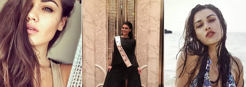 Seznamte se s mladou kráskou Andreou, která reprezentovala Česko na světové soutěži krásy a svým vzhledem okouzlí i vás