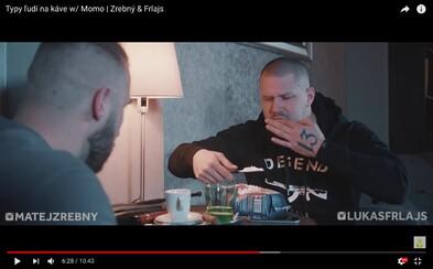 Zrebný a Frlajs si v najnovšom videu robia srandu z kávičkárov. Hlavnú úlohu bratislavského vagoša stvárnil Momo