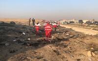 Zřítilo se ukrajinské letadlo se 176 lidmi na palubě. Video zaznamenává pád, který nikdo nepřežil