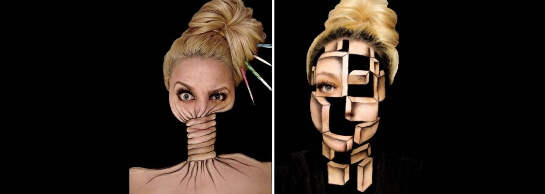 Zručnost jako z jiného světa. Ines díky make-upu získává novou identitu, jedna malba jí zabere více než 10 hodin