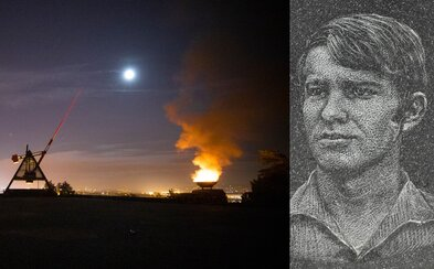 Ztohoven zapálili oheň na Stalinu na počest upáleného studenta Jana Zajíce