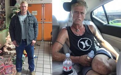 """Zúfalá mama zdieľala na Facebooku fotky drogovo závislého syna. Sama ich popisuje ako """"tvár heroínu a pervitínu"""""""