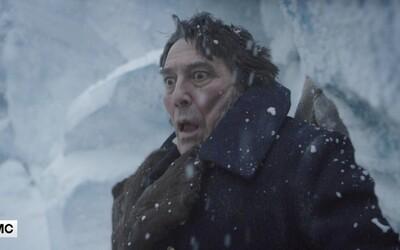 Zúfalí námorníci v mrazivom thrilleri The Terror z dielne Ridleyho Scotta musí v nehostinných podmienkach čeliť záhadnému monštru