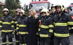 Zuzana Čaputová ďakovala hasičom v Prešove: Nie je vôbec bežné prekonať vlastný strach kvôli tomu, aby sme zachránili druhého