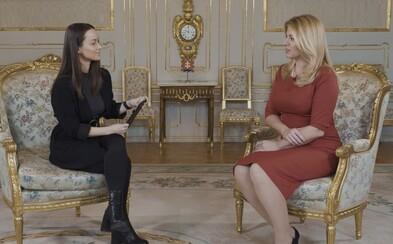 Zuzana Čaputová exkluzívne pre Refresher: Z nárastu extrémizmu som rozčarovaná a smutná, pozerá sa mi na to ťažko (Videorozhovor)