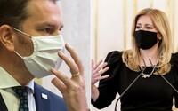 Zuzana Čaputová kritizuje vládu a hovorí o pocite neistoty: Chcem požiadať zodpovedných o jasnú komunikáciu, odkázala