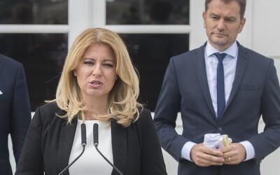 Zuzana Čaputová nevedela o celoplošnom testovaní až do tlačovky: Kritizovala spôsob, akým Matovič novinku oznámil