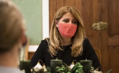 Zuzana Čaputová ocenila návrh pandemickej komisie na lockdown ako počas Veľkej noci