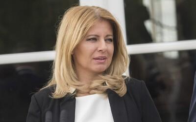 Zuzana Čaputová udělila milost muži, kterého odsoudili za držení a užívání marihuany na 10,5 roku
