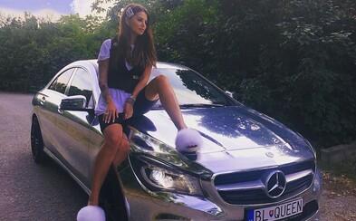 Zuzana Plačková plánuje súťaž o svoj legendárny chrómový Mercedes. Auto v hodnote približne 15 000 € môže byť aj tvoje
