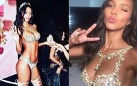 Zvodná Lais Ribeiro očarila podprsenkou za 2 milióny dolárov na Victoria's Secret Fashion Show. Zdobilo ju cez 6000 drahokamov