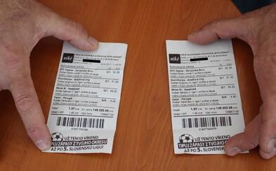 Slovák natipoval zápasy za necelá 3 eura a vyhrál 300 000 eur. O sportu prý nic neví a nevěděl, že vyhrál, protože betonoval