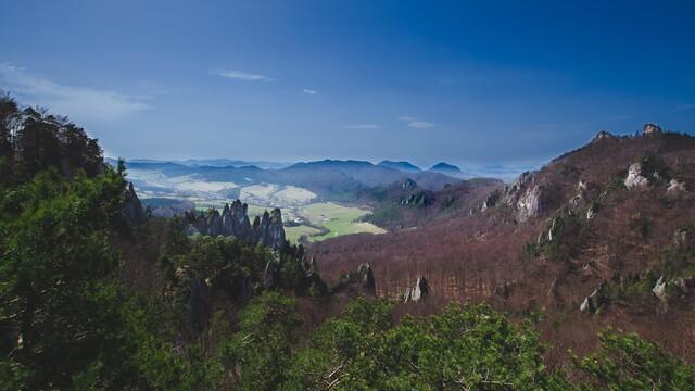 Veľký Manín a Súľovské skaly