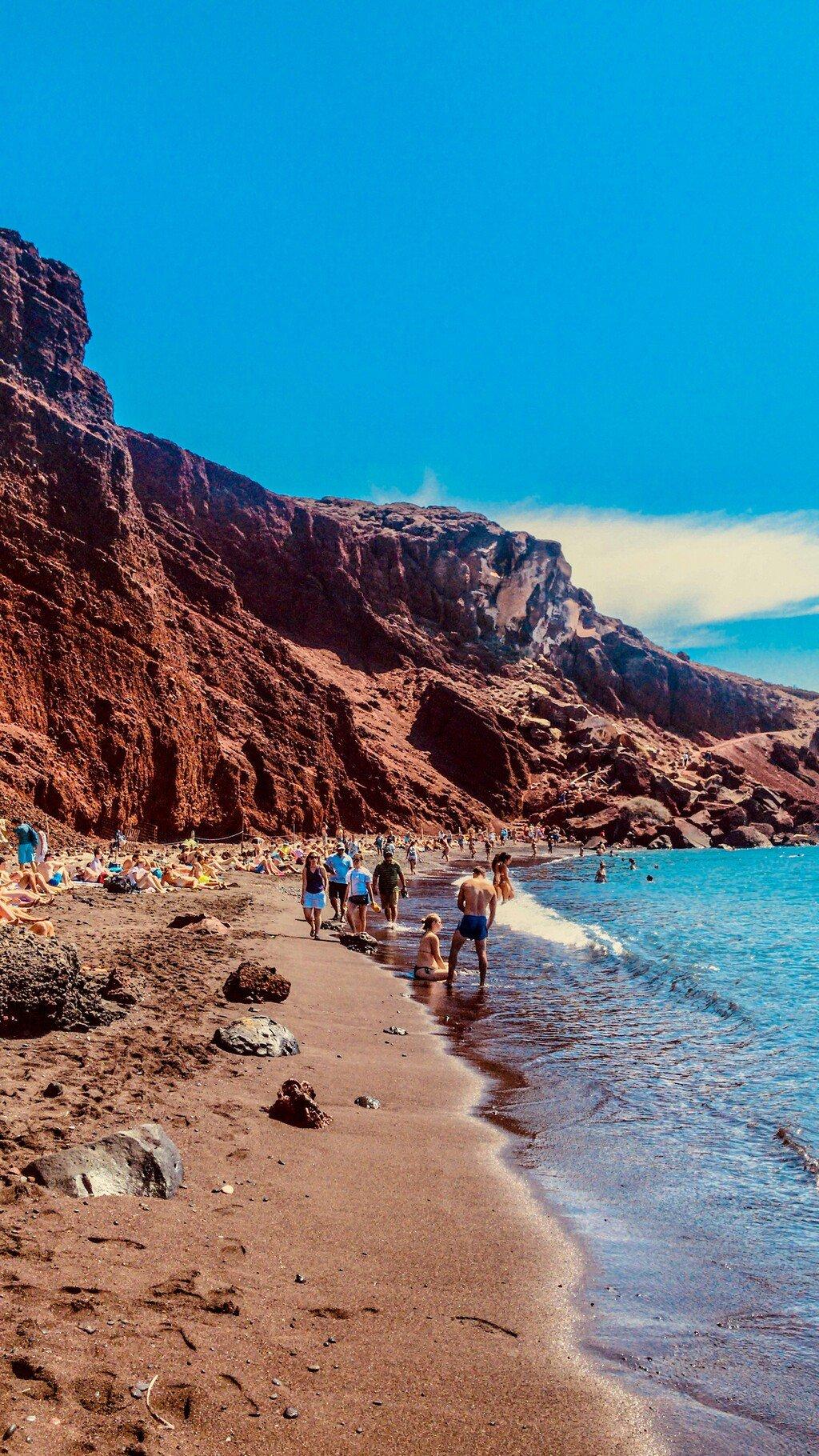 af2a2e8926ee My sme však nechceli stráviť celý deň na pláži a tak sme po troške  vylihovania pokračovali ďalej a navštívili sme archeologické mestečko  Akrotiri