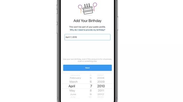 Instagram bude požadovať zadať dátum narodenia od nových užívateľov