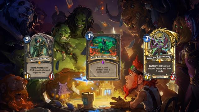 Hearthstone na začiatku, ako vyzerali niektoré karty?