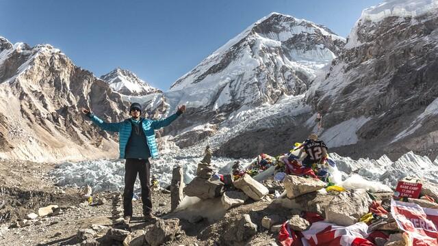 Cesta pod Mt. Everest (základný tábor)