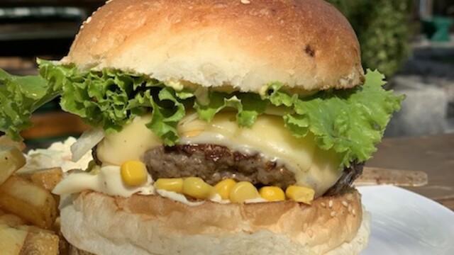 Cosmo burgers pri Slnečných jazerách v Senci