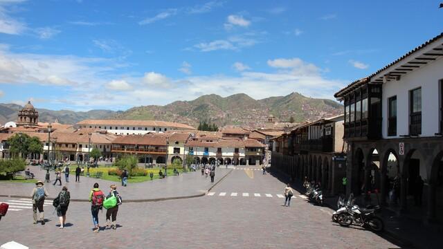 Spomienky na Južnú Ameriku - 4 - 14 hodinová cesta cez Andy do mesta Inkov