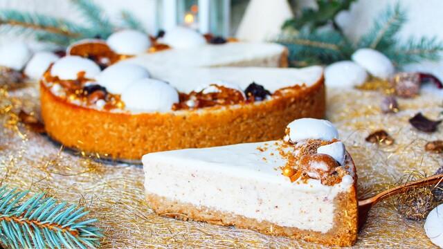 Vianočný perníkový cheesecake