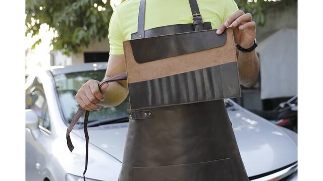 Leather Work Apron - Original Leather Apron Makers   Laprons