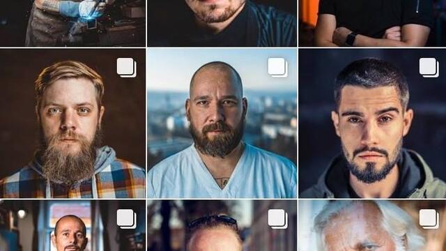 """Nádherná séria portrétov """"Mo(j)vember"""" s posolstvom"""