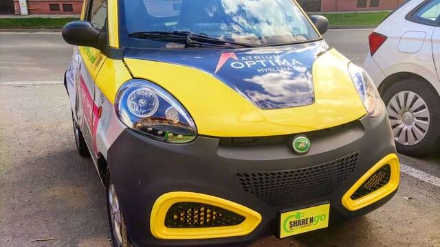 SHARE'Ngo Slovensko: Elektrické auto, ktoré si môžeš vyskúšať aj ty!