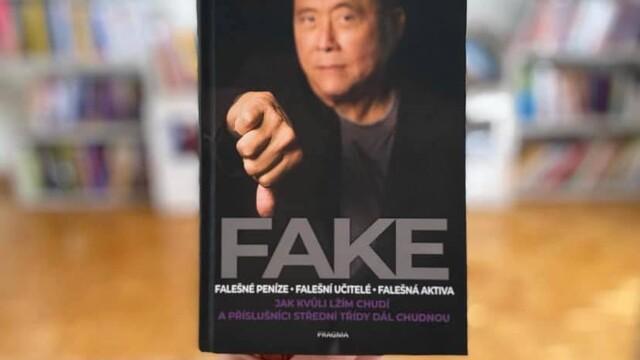 Knihy, čo ťa nakopnú : FAKE