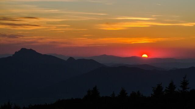Veľký Choč alebo najkrajší východ Slnka