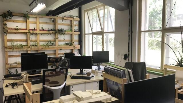 Ateliér coworking - od starého skladu po útulný priestor ... 1.časť