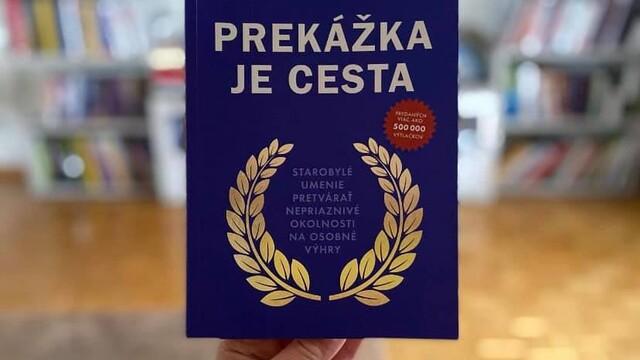 Knihy, čo ťa nakopnú : PREKÁŽKA JE CESTA