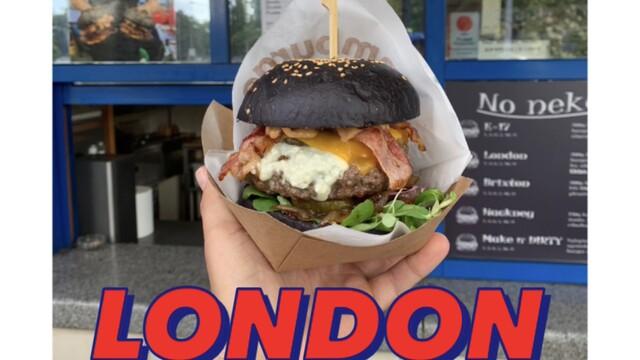 Poctivý burger na netradičnom mieste.