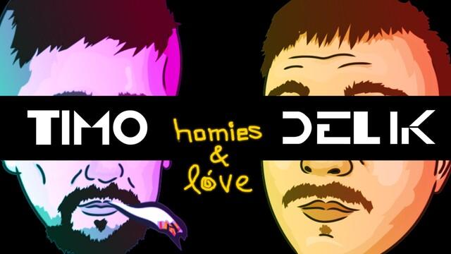 TIMO  &  DELIK  posúvajú  nový  animovaný  klip  ku  skladbe  Homies  &  Love