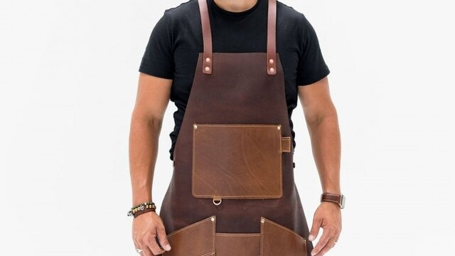 Leather Work Apron - Large Selection Of Leather Aprons