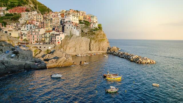 Cesta vlakom do Cinque Terre