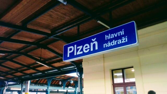 Zimní cestování vlakem II - Plzeň
