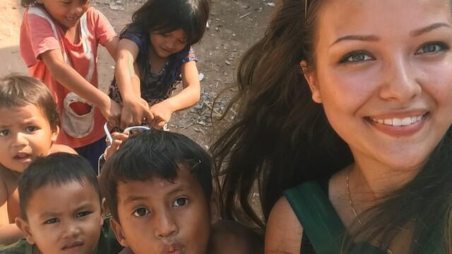Ninka na vandrovke: Dobrovolničenie v Kambodži