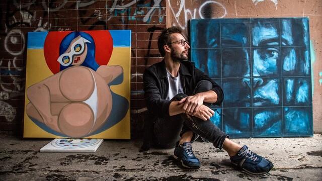 Výtvarník Marek Holeša: Hľadám schému, akou realitu prepísať do iného jazyka