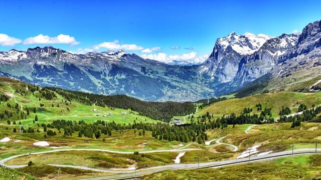 Na cestě po Švýcarsku